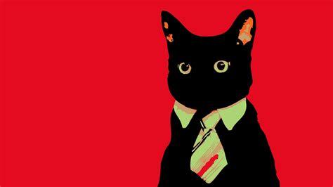 wallpaper business cat psychedelic computer wallpapers desktop backgrounds