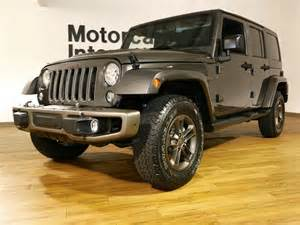 2016 jeep wrangler unlimited 4x4 75th edition