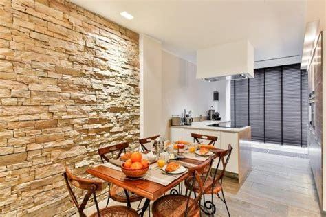 pared de piedra interior 20 ideas de revestimiento paredes interiores