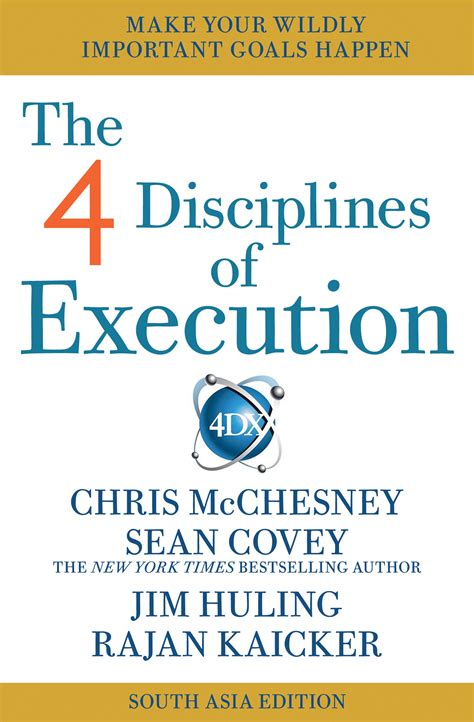 libro 4 disciplines of execution sean covey official publisher page simon schuster uk