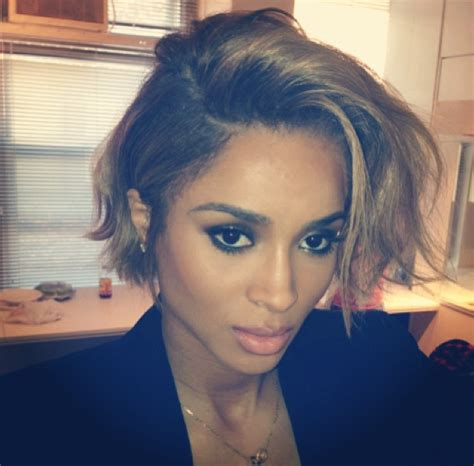 short hairstyles on instagram ciara new haircut 2013