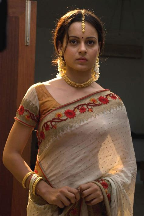 serial actor ganesh gopinath kangna ranaut in saree bollywood pinterest saree