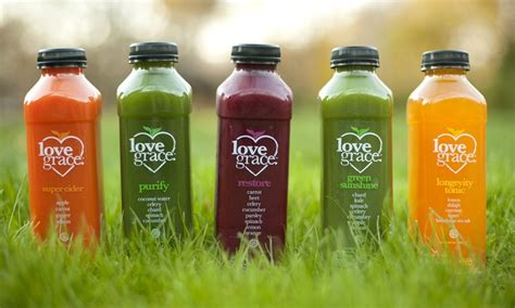 5 Day Detox Juice Cleanse Groupon by Grace Juice Cleanse Grace Groupon