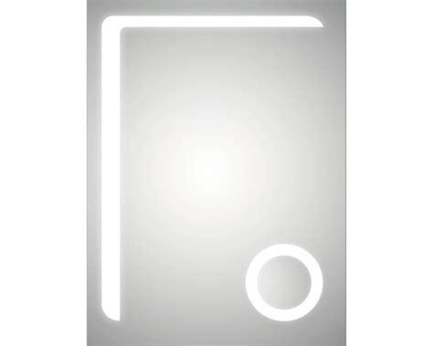 vergrößerungsspiegel mit beleuchtung led lichtspiegel dsk silver arrow 60x80 cm bei hornbach kaufen