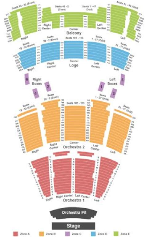 times union center seating jacksonville times union ctr perf arts theater tickets and times