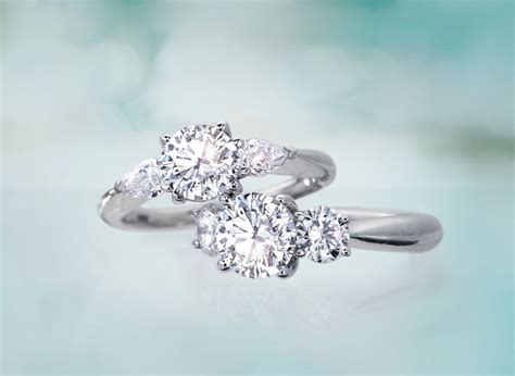 what does a three engagement ring symbolize ritani