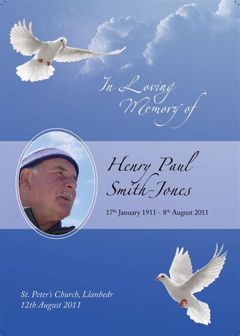 tarpaulin layout design for death 1000 images about order of service on pinterest funeral