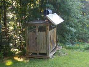 solar shower rustic outdoor bath shower ideas