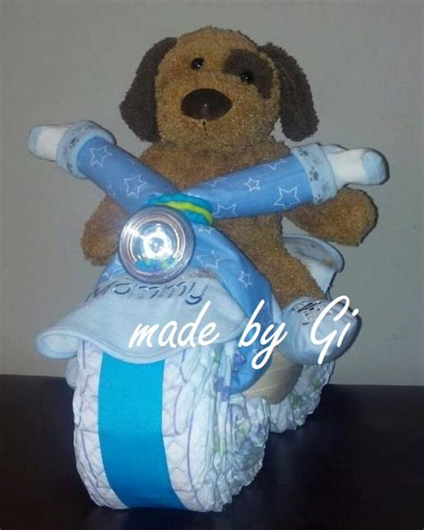 how to make a motorcycle diaper cake for boys youtube motorcycle diaper cake by madebygi on etsy