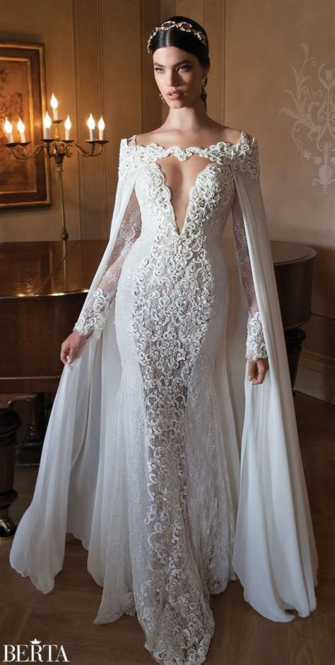 sleeved wedding dresses for autumn and winter - Winter Wedding Dresses Uk