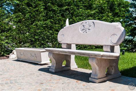 panchine pietra panchine in pietra garden house lazzerini