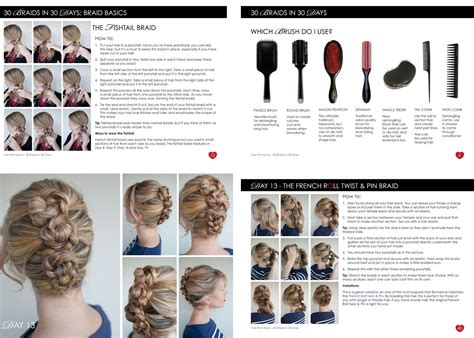 Step By Step Written Instructions For Braids | step by step written for braids how to do a waterfall