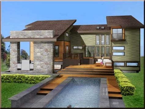 Modern Style House Plans by