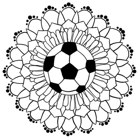 Duvet Covers Men Quot Soccer Mandala Quot By Schnellbee Redbubble