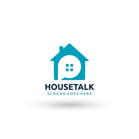 house logo house logo template vector free download