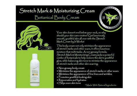 Detox For Stretch Marks by 125 Best Images About It Works Products Em On