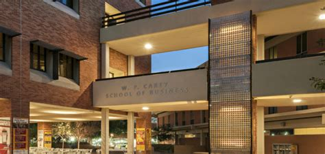 Asu Carey Mba Ranking by Taking Care Of Business Asu S W P Carey School Of