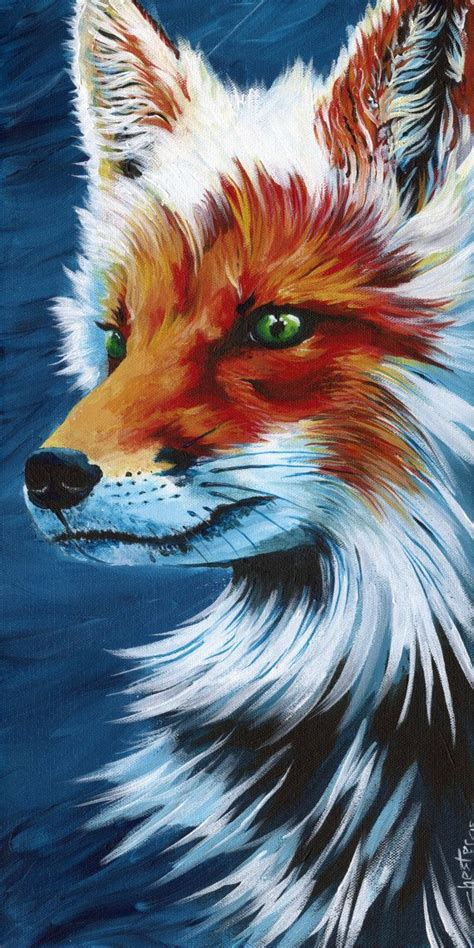 animal painting 25 best ideas about fox paint on fox