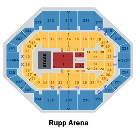 rupp arena floor plan rupp arena floor layout meze