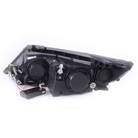 2011 Kia Sorento Headlight Bulb For 2011 2013 Kia Sorento Dual Ccfl Halo Projector Black