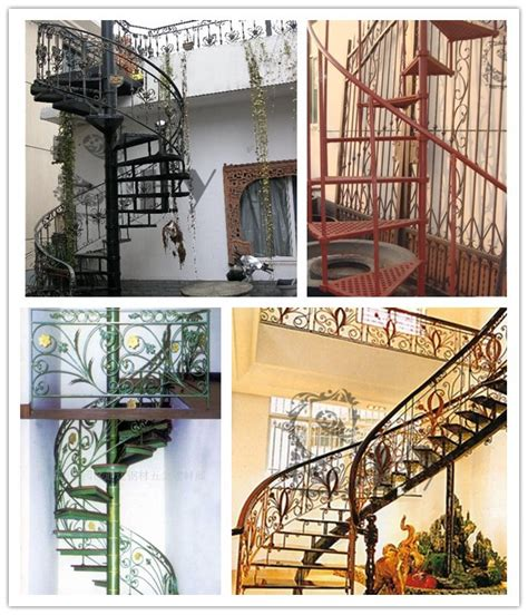 antique indoor spiral staircase railing design from china