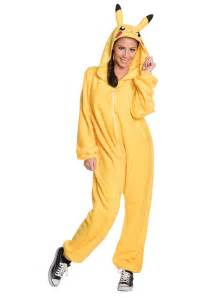 Pokemon Costumes Pikachu Jumpsuit Costume