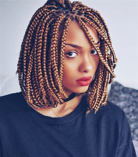 thick bob cut box braids 5 box braid styles to wear this summer box braids bob