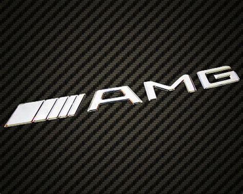 logo mercedes benz amg mercedes benz amg logo emblem badge chrome cl slk sl c63