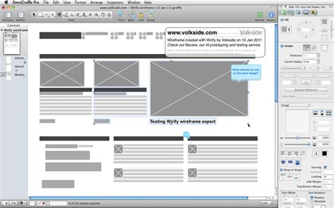 wireframe visio volkside preview exporting wirify wireframes to omnigraffle