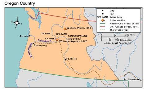 map of oregon 1840 1840s 50s oregon territory 1820 1860 antebellum