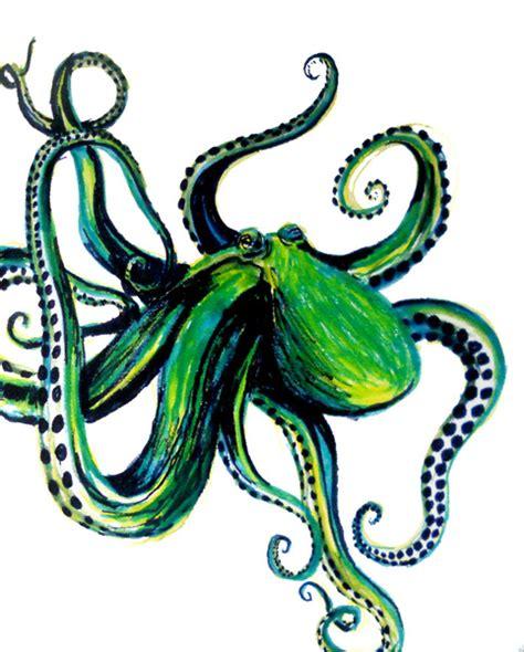 printable octopus art octopus art print by ashley jones society6