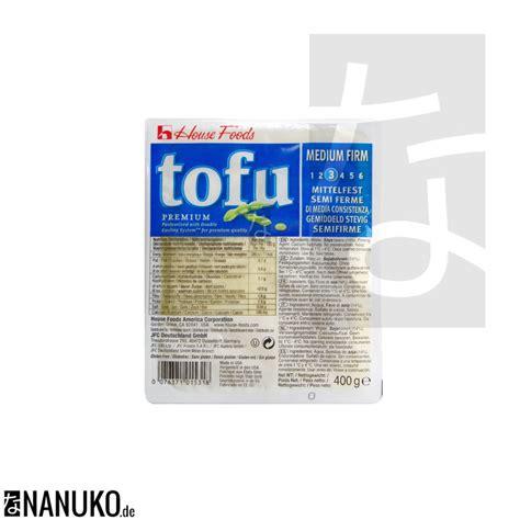 house tofu house premium tofu medium firm 400g shop online at nanuko de