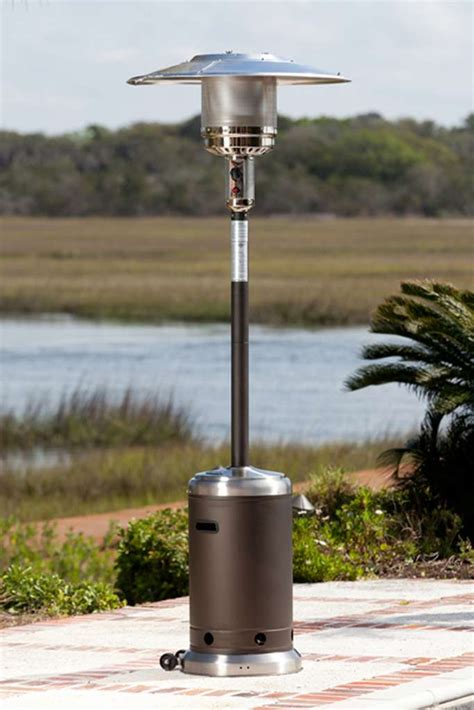 mocha stainless steel commercial patio heater