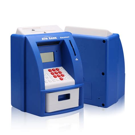 Gift Card Money Machine - atm money box digital bank saving cash card machine gift kids children adults uk ebay
