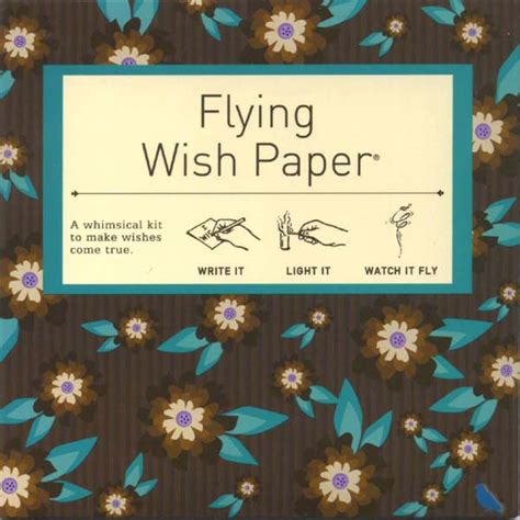 How To Make Flying Wish Paper - chocolate mint flying wish paper mini kit