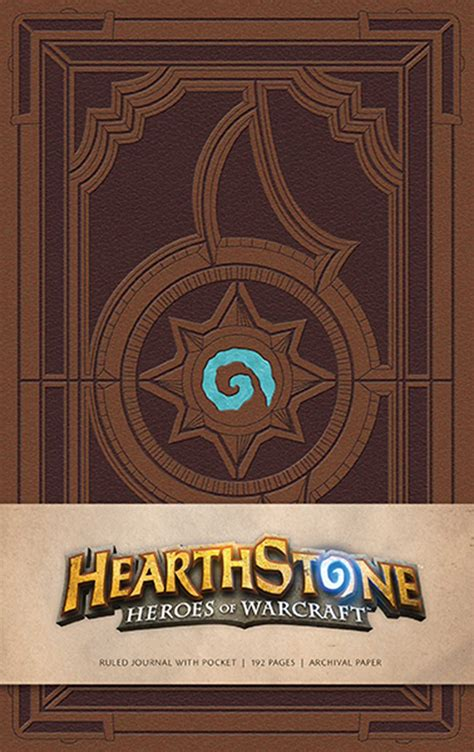 libro hearthstone journal insights journals hearthstone hardcover ruled journal book by blizzard entertainment official publisher page
