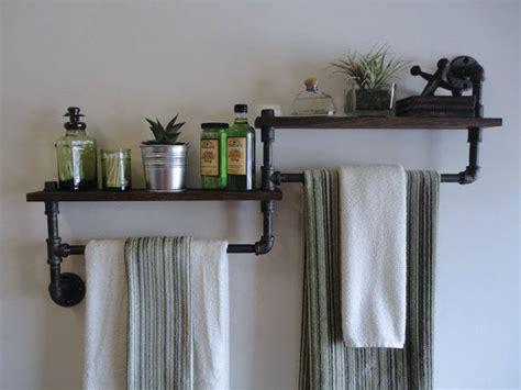 badezimmer regal industrial industrial bathroom towel rack m 246 bel craft