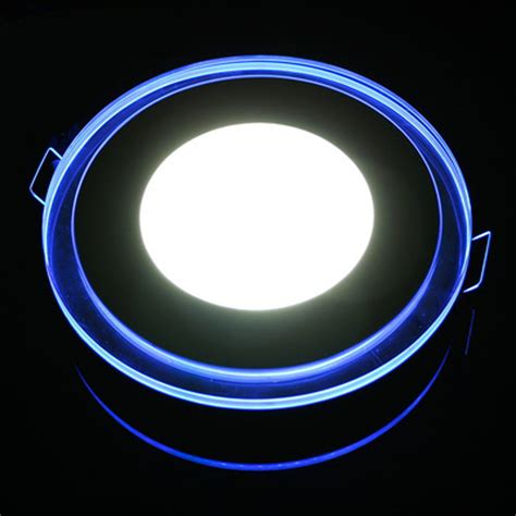 Blue Led Ceiling Lights 10w 15w 20w Acrylic Led Ceiling Panel Light L Bulb Downlight Warm Cold White Blue For