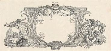 Fairy Garden Art - free vintage clip art gorgeous french frame engraving the graphics fairy