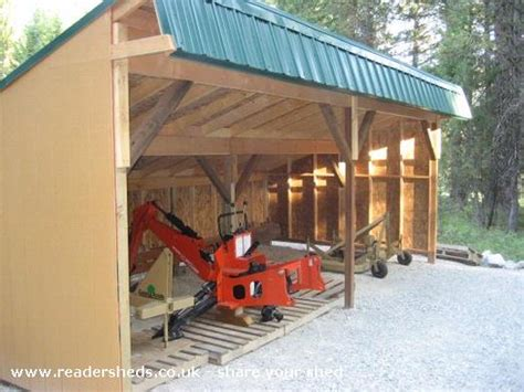 Tractor Storage Shed Plan by Tractor Shed Plansshed Plans Shed Plans