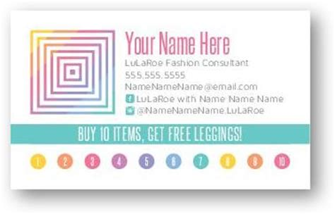 lula roe business card template lularoe business cards business cards custom print