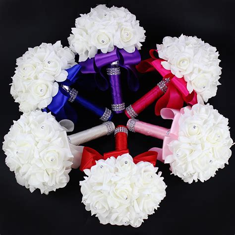 online get cheap wedding bouquets aliexpress com