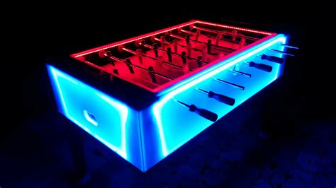 light up foosball table rentals maryland dc area amusements