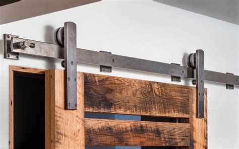 barn door track systems barn door track trk100 rocky mountain hardware