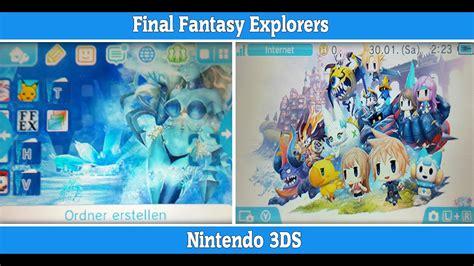 Explorers 3ds explorers nintendo 3ds theme free