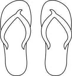 flip flops line free clip