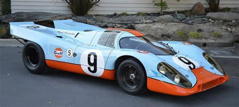 gulf porsche 917 i might rob banks to buy this 20 million 1969 gulf