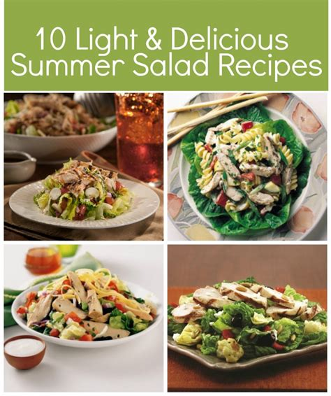 light grilled chicken recipes 10 light delicious salad ideas with tyson 174 grilled