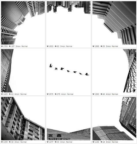 instagram layout trends surreal photography collages instagram grid