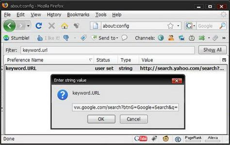 Firefox Search In Address Bar Search From The Address Bar In Firefox
